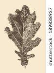 Oak Leaf Engraving Style ...
