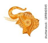 easy to edit vector... | Shutterstock .eps vector #189840545
