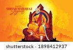 illustration of shivaji maharaj ... | Shutterstock .eps vector #1898412937
