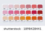 pantone colour guide palette... | Shutterstock .eps vector #1898428441