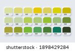 pantone colour guide palette... | Shutterstock .eps vector #1898429284
