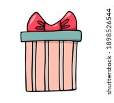 hand drawn cartoon doodle... | Shutterstock .eps vector #1898526544