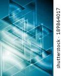 abstract hi tech background | Shutterstock . vector #189864017