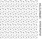 seamless random small black... | Shutterstock .eps vector #1898672734