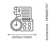 time limit linear icon.... | Shutterstock .eps vector #1898681767