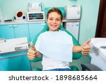 Small  young patient boy is...