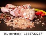 Chicken Thighs Pink Salt  Black ...