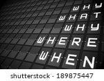 questions on digitally...   Shutterstock . vector #189875447