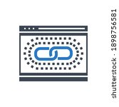 web link optimization related...   Shutterstock . vector #1898756581