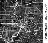 dark vector art map of...   Shutterstock .eps vector #1898759644