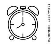 time alarm clock icon. clock...