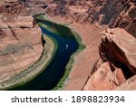 Landscape Of Horseshoe Bend...