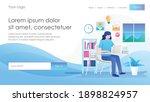 flat concept isometric... | Shutterstock .eps vector #1898824957