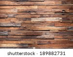 timber wood wall texture... | Shutterstock . vector #189882731
