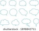 it is an illustration of speech ... | Shutterstock .eps vector #1898842711