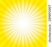 sunburst pattern. radial...   Shutterstock . vector #189892007