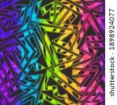 bright maze geometric seamless... | Shutterstock .eps vector #1898924077