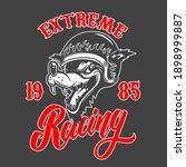 extreme racing. emblem template ...   Shutterstock .eps vector #1898999887