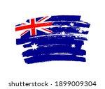 flag of australia in brush... | Shutterstock .eps vector #1899009304