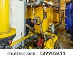 maintenance engineers checking... | Shutterstock . vector #189903611