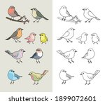 coloring book page for... | Shutterstock .eps vector #1899072601