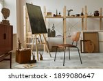 Unique Artist Workspace...