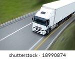 semi trailer | Shutterstock . vector #18990874