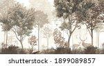Wallpaper Forest Mural Nature...