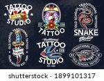set of vector traditional... | Shutterstock .eps vector #1899101317