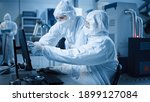 factory cleanroom  engineer and ...