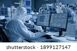 electronics factory cleanroom ...