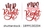 mr right and mr always right  ...   Shutterstock .eps vector #1899130204