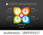 four colorful circle pointers... | Shutterstock .eps vector #1899193117