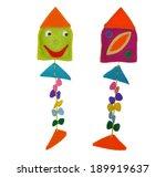 kite   kids toys | Shutterstock . vector #189919637