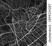 dark vector art map of nimes ... | Shutterstock .eps vector #1899224287