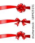 bows design | Shutterstock . vector #189925151