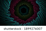 Abstract Infinite Tunnel Of...