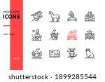 fairy tales concept   line... | Shutterstock .eps vector #1899285544