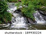 Great Falls Park Waterfall In...