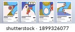 set of perfect abstract posters ... | Shutterstock .eps vector #1899326077