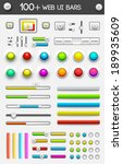 big collection of web ui...