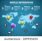 business sphere infographic... | Shutterstock .eps vector #189935654