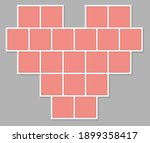 valentines day mood board....   Shutterstock .eps vector #1899358417