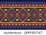 gemetric ethnic oriental ikat... | Shutterstock .eps vector #1899392767