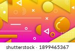 abstract colorful gradient... | Shutterstock .eps vector #1899465367