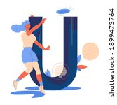 sport illustration about... | Shutterstock .eps vector #1899473764