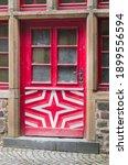 Ancient Wooden Doors Of...