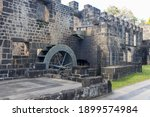 The historical ruins of...