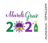 Mardi Gras 2021 Calligraphy...