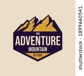 the mountain logo design...   Shutterstock .eps vector #1899660541